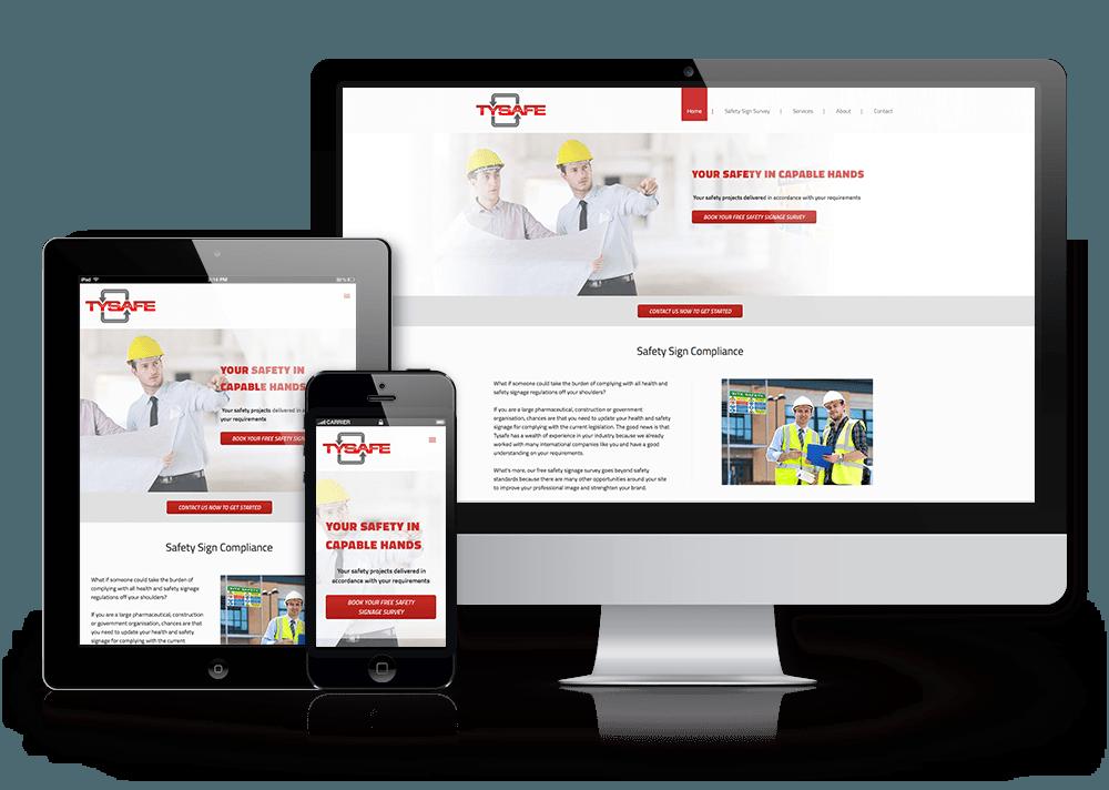 Tysafe safety consultancy website