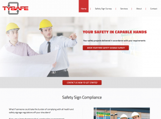 Tysafe safety consultancy website